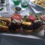 Hot Dog & Hamburger Sliders from Lei Lounge, San Diego, CA
