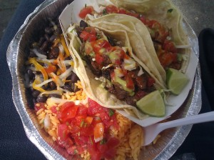 Tacos from the 23rd St. Calexico Cart