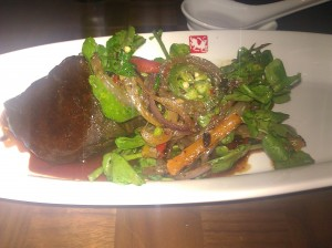 Spicy Steak at Shang, Thompson LES